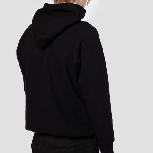 Czarna bluza męska z chromo logo PILAWSKI K550004-81