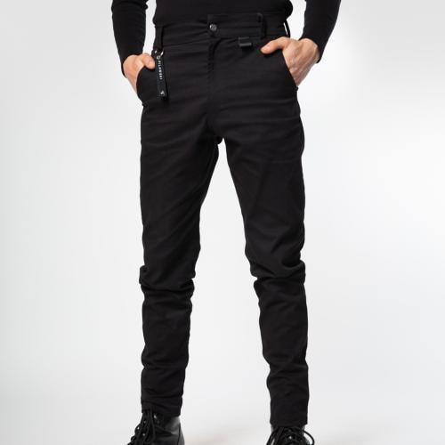Czarne jeansy męskie PILAWSKI K650001-81