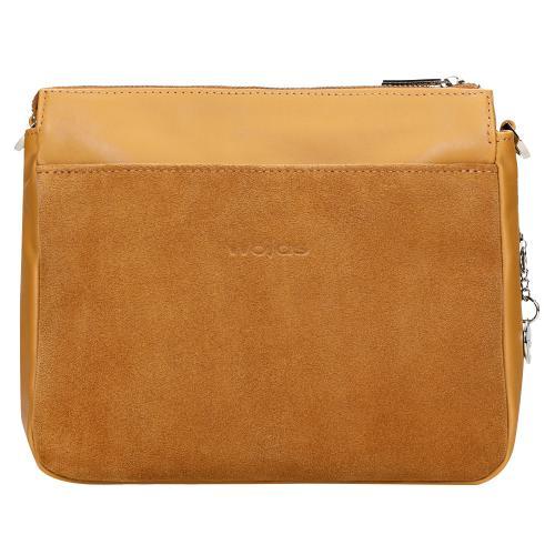 Mała torebka damska w kolorze jasnego brązu 6854-53