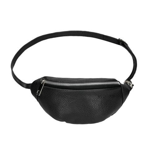Czarna torebka w formie nerki dla dzieci 80104-51