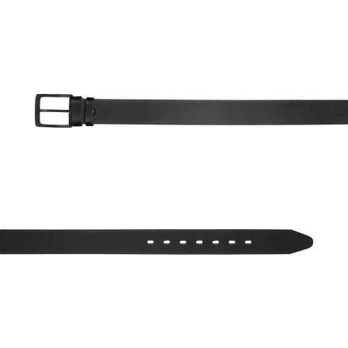 Pasek męski z klamrą w kolorze czarnym 93047-51