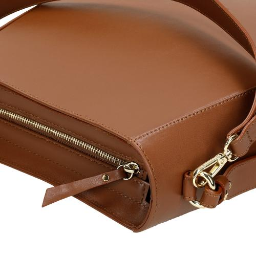Jasnobrązowa torebka damska na co dzień 80135-53