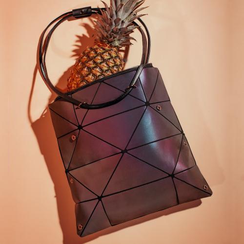 WJS holograficzna torebka damska z geometrycznym wzorem WJS76024-86