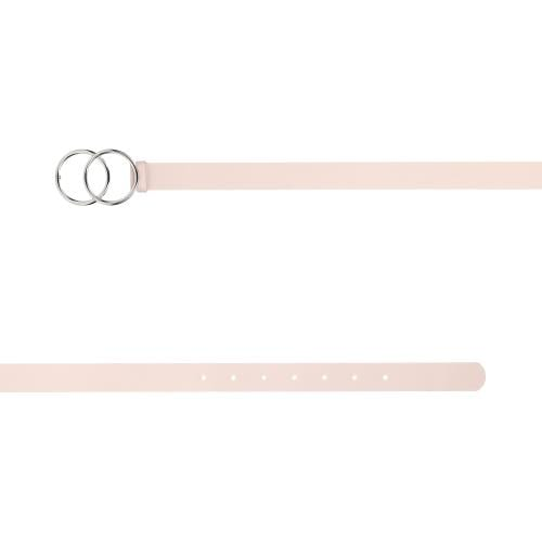 WJS różowy pasek damski z metalową klamrą WJS91016-55