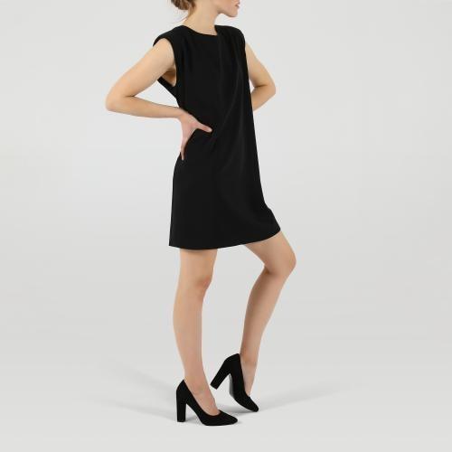 Minimalistické elegantné dámske lodičky z velúrovej kože 35042-61