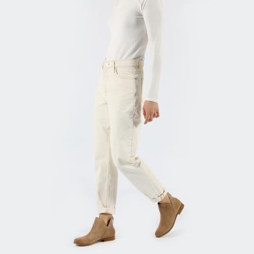 Bledohnedé dámske členkové topánky ako vychádzková obuv 55002-64