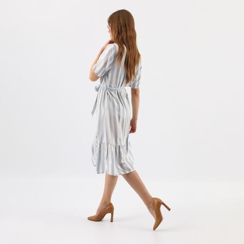 Elegantné dámske lodičky v neutrálnej béžovej farbe 35064-54