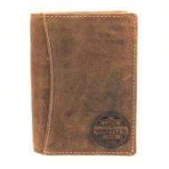 Brązowy męski Portfel 5955-52