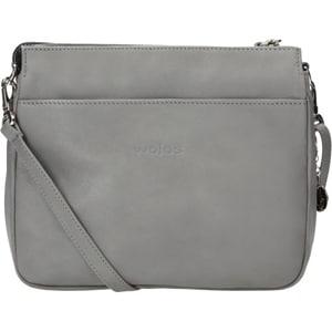 Popielata damska torebka 6854-50