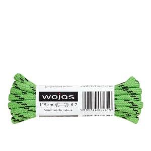 Sznurowadła zielone 115cm 99507-07 99507-07