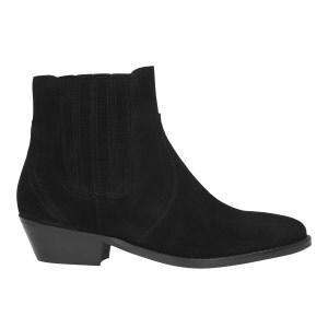 Czarne botki damskie 8605-61