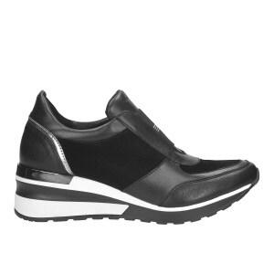 Sportowe  czarne półbuty damskie 9419-71