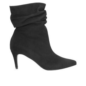Czarne damskie botki 9513-61
