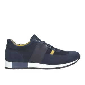 Granatowe buty sportowe męskie 9034-76