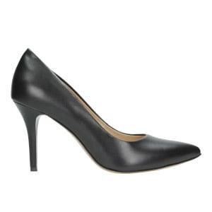 Czarne czółenka damskie 9275-51