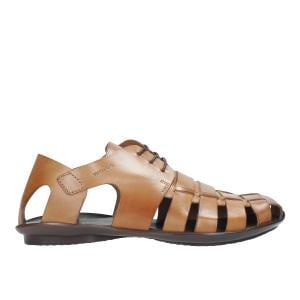 Jasnobrązowe sandały męskie 8303-53