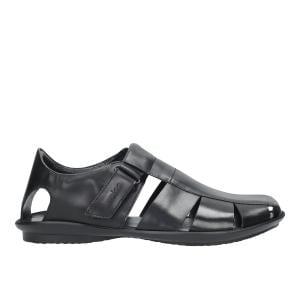Czarne sandały męskie 9242-51