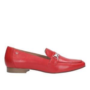 Czerwone półbuty damskie 9463-55