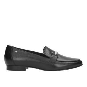 Czarne półbuty damskie 9416-51