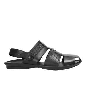 Czarne sandały męskie 9240-51