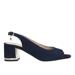 Granatowe sandały damskie 76041-66