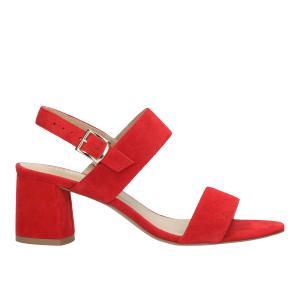 Czerwone sandały damskie 9749-65