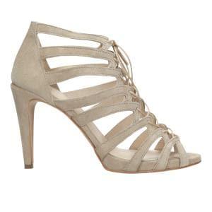 Beżowe sandały damskie 76054-64