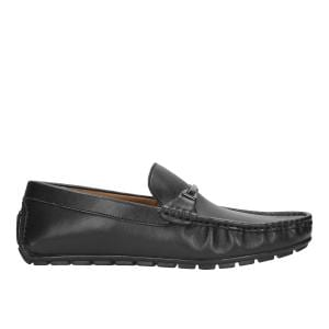 Czarne półbuty męskie 9058-51
