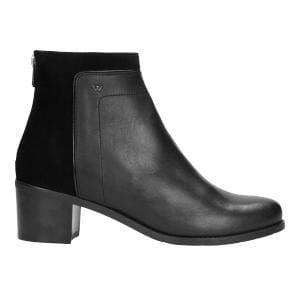Czarne botki damskie 9565-71