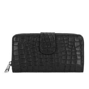 Czarny portfel damski 9950-51