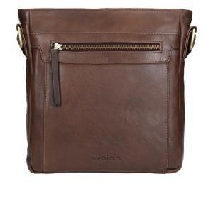Brązowa torba męska 9863-52