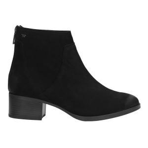Czarne botki damskie 9567-21