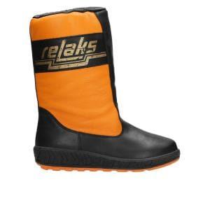 Pomarańczowe zimowe RELAKS 3680-79