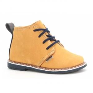 Trzewiki BARTEK W-81852-3/1LT, dla chłopców, żółty W-81852-3/1LT