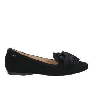 Czarne lordsy damskie 45000-61