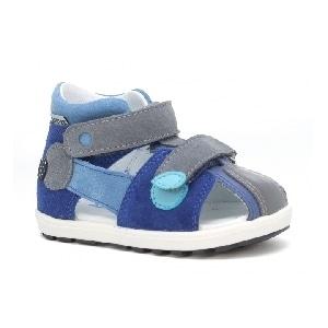Mini first steps BARTEK W-71179/0RR, dla chłopców, niebiesko-szary W-71179/0RR