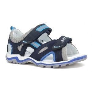 Sandały BARTEK T-16176-7/0KP, dla chłopców, ocean T-16176-7/0KP