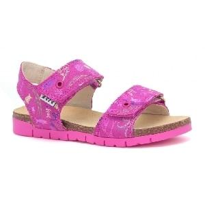 Sandały BARTEK W-76183/ABA, dla dziewcząt, różowy W-76183/ABA