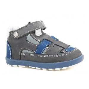 Mini first steps BARTEK T-11694-1/Z61, dla chłopców, szaro-niebieski T-11694-1/Z61