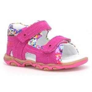 Sandały BARTEK W-11848-7/V42, dla dziewcząt, różowy W-11848-7/V42