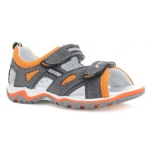 Sandały BARTEK T-019176-5/GR9 II, dla chłopców, szaro-pomarańczowy T-019176-5/GR9 II