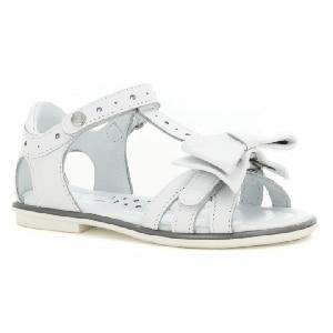 Sandały BARTEK W-16182/B87, dla dziewcząt, biały W-16182/B87
