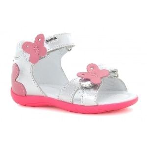 Sandały BARTEK W-51569/75Z, dla dziewcząt, srebrno-różowy W-51569/75Z