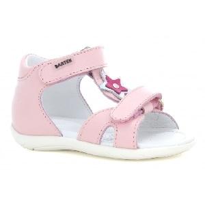 Sandały BARTEK W-51120/PE4, dla dziewcząt,  jasno różowy W-51120/PE4