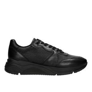 Czarne całoroczne sneakersy męskie  46042-41