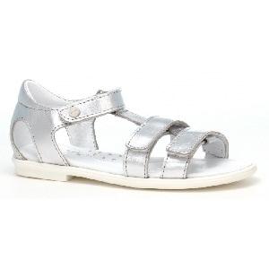 Sandały BARTEK W-79016/SIE, dla dziewcząt, biało-srebrny W-79016/SIE