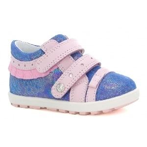 Mini first steps BARTEK W-011733-5/V06 II, dla dziewcząt, niebiesko-różowy W-011733-5/V06 II