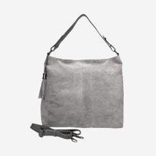 popielata damska torebka 6890-70