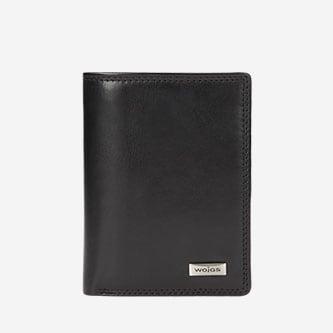 Funkcjonalny czarny portfel męski 7941-51