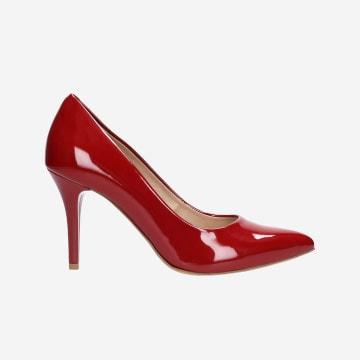 Czerwone czółenka 9275-35